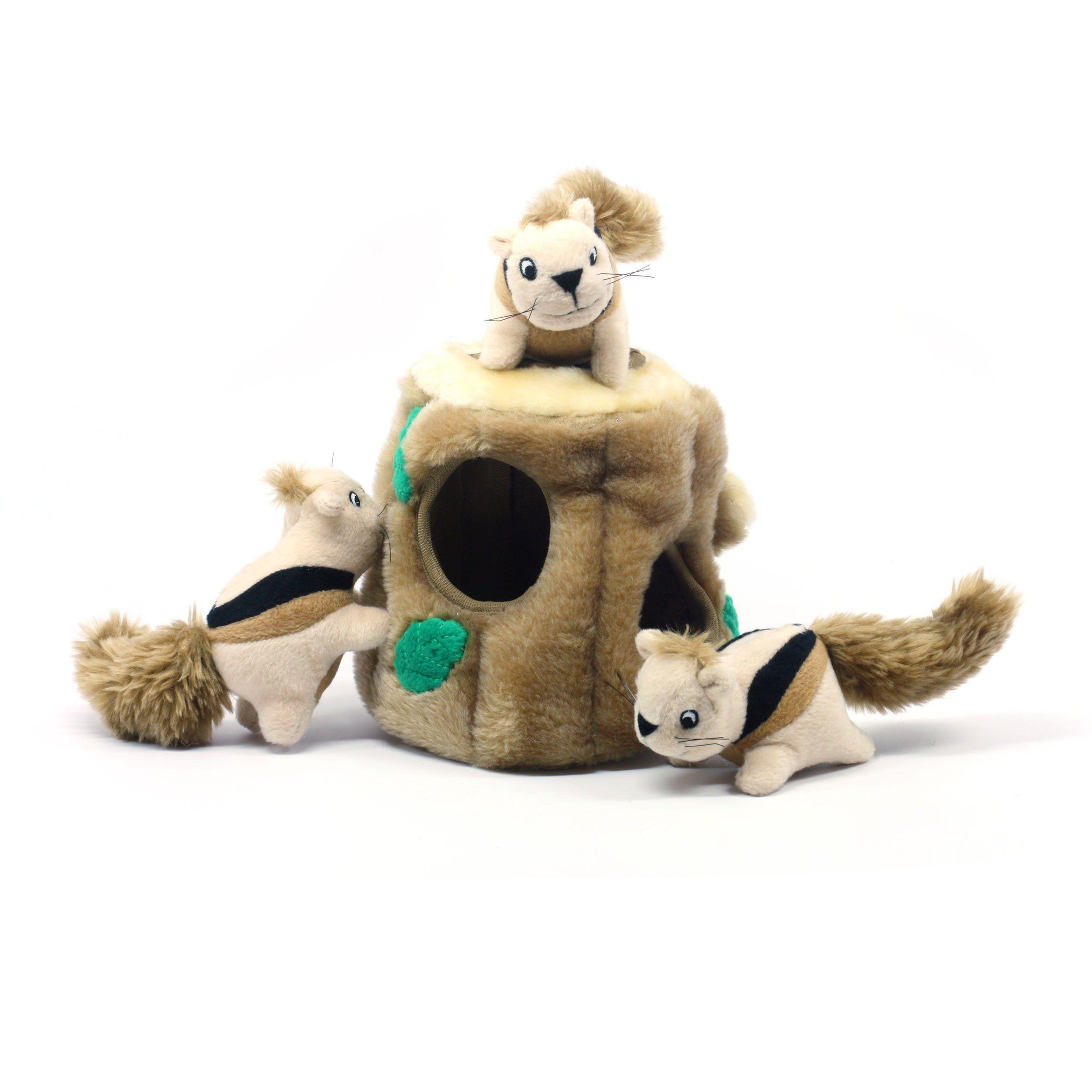 Amazon Com Kyjen Pp01056 Hide A Squirrel Squeak Toy Dog Toys 4
