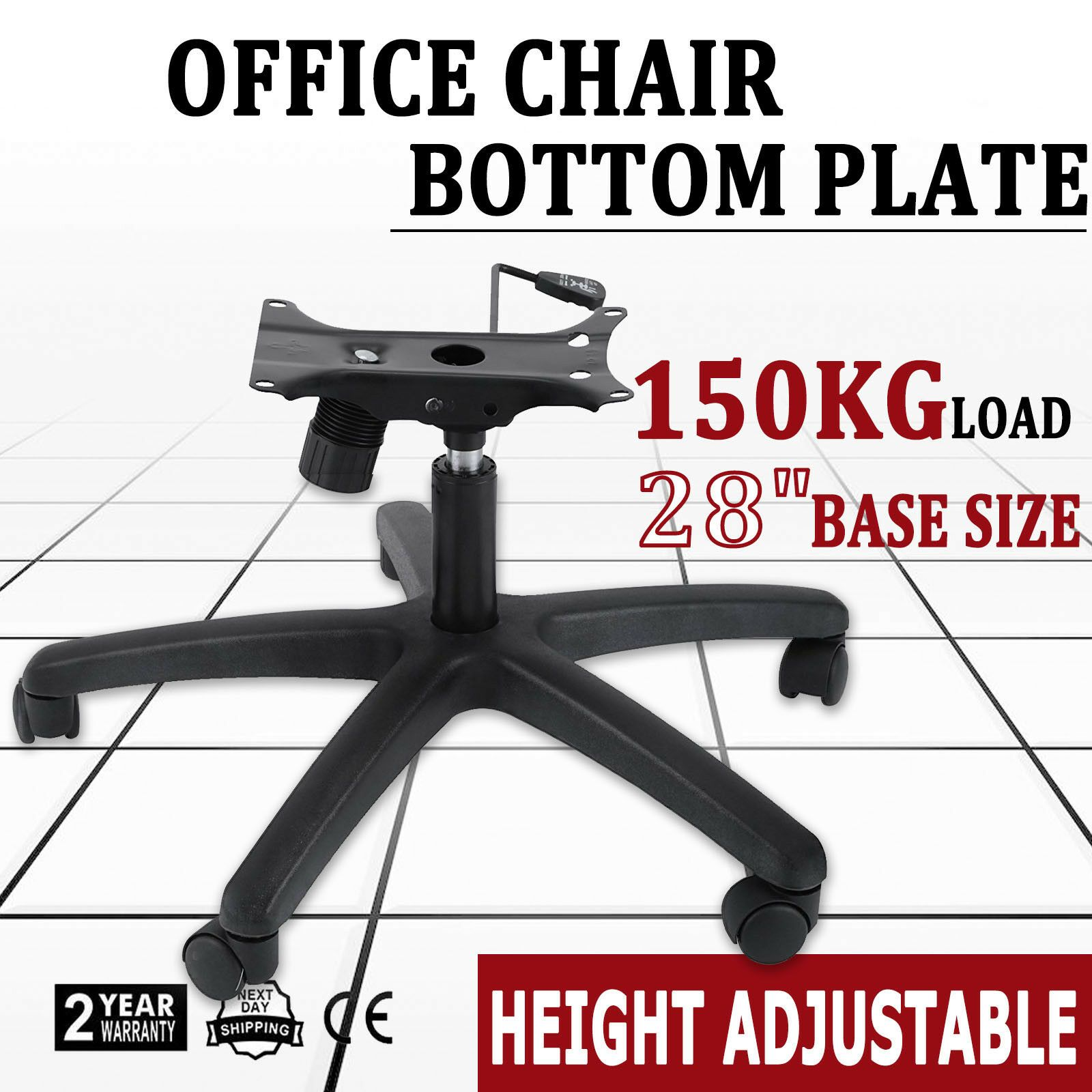 Details About 350lbs 28 Office Chair Base Swivel Tilt Style