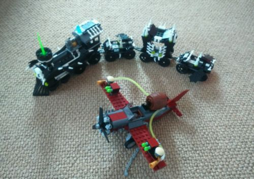Lego #monster fighters \u2013 the ghost #train set 9467 with #instruction