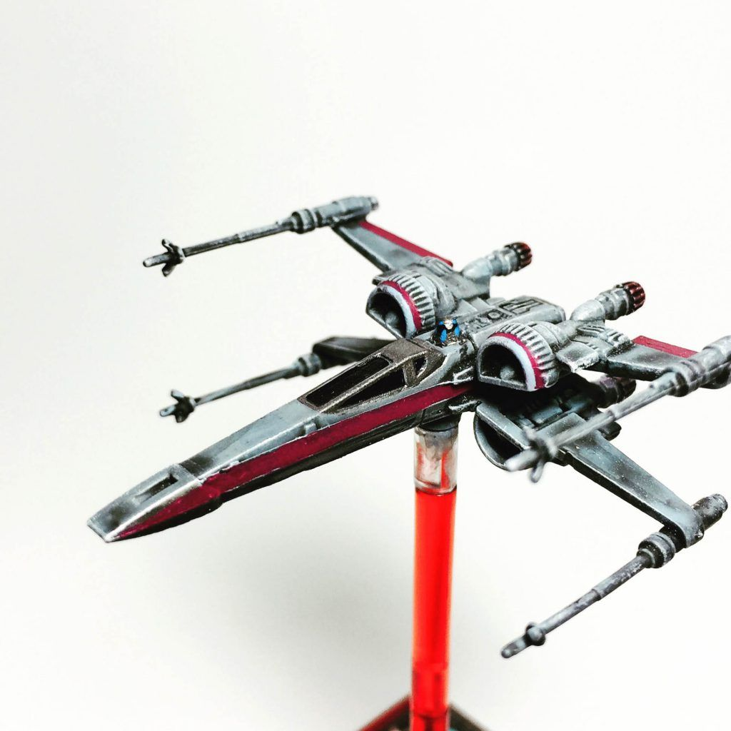 T-70 X-Wing Repaint | X-wing Minitures | Pinterest
