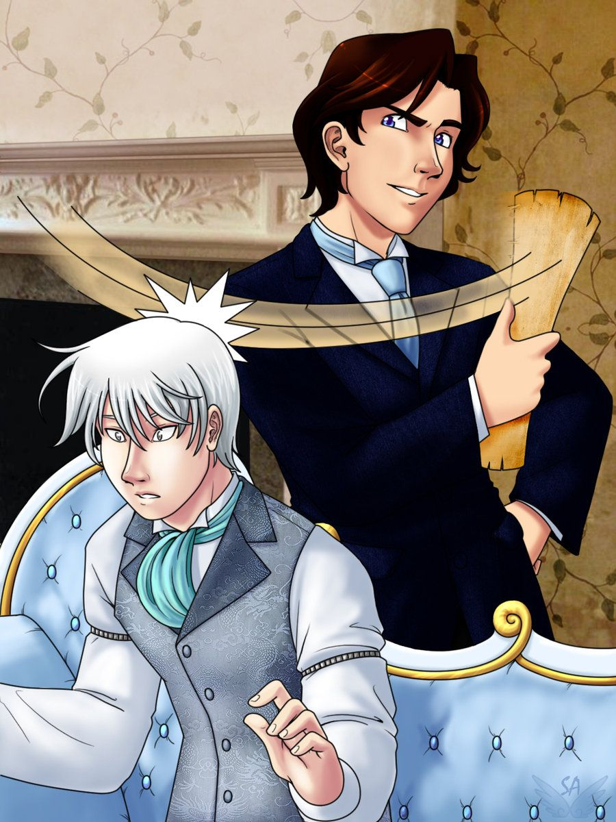 """""""Astriola,"""" he said. """"That IS demon pox. You had evidence that demon pox existed and you didn't mention it to me! Et tu, Brute!"""" He rolled up the paper and hit Jem over the head with it. """"Ouch!"""" - Will and Jem, Clockwork Prince. I love them."""