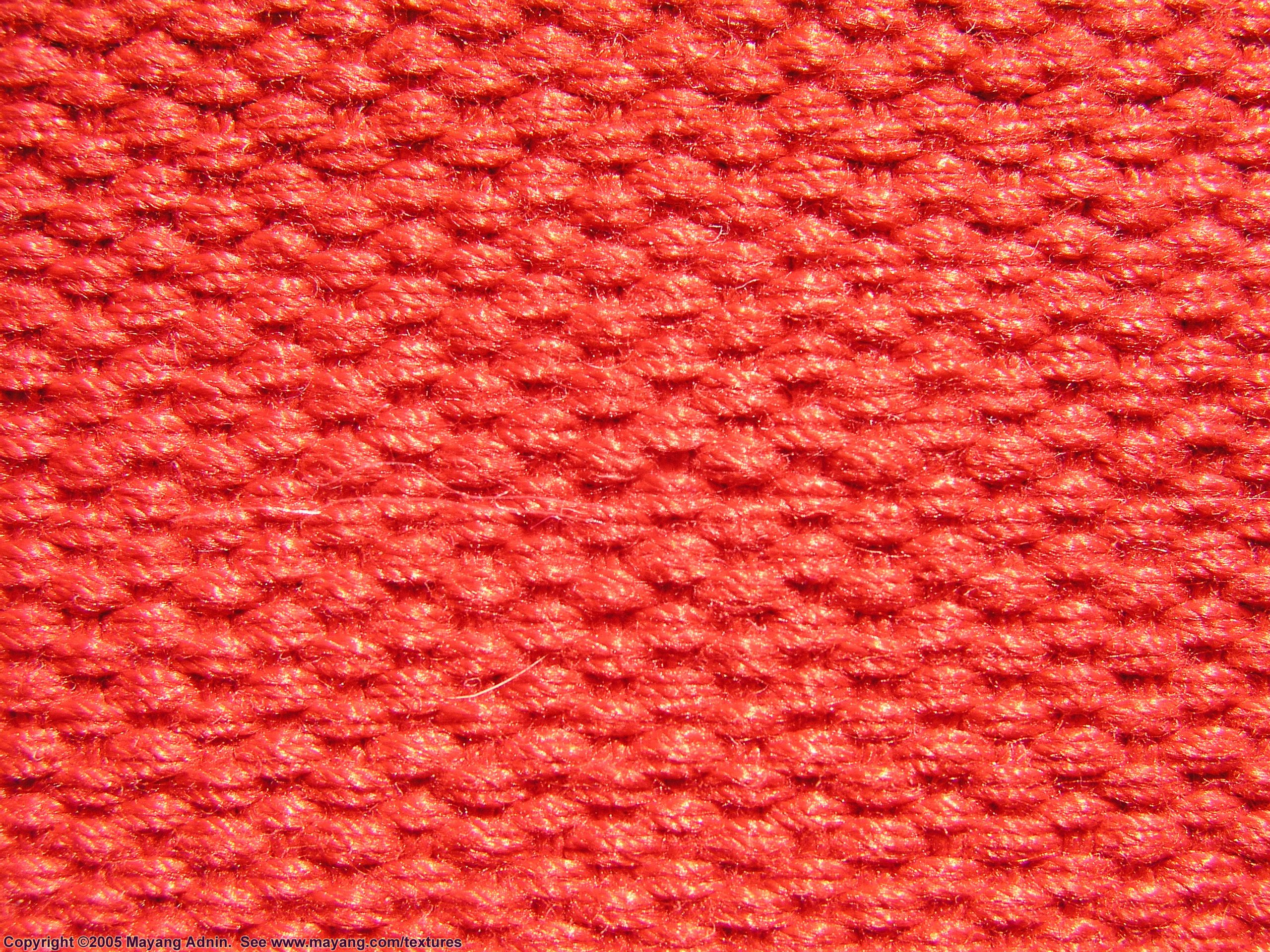Red bed sheet texture - Undefined