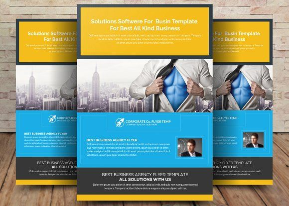 Solution And Software Flyer Template By Party Flyers On