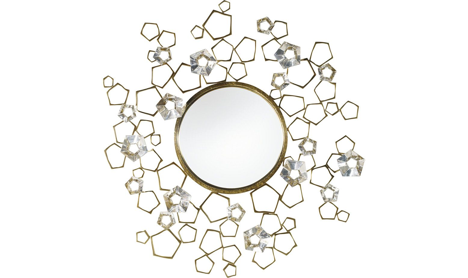 Blossom Mirror by Thomas Pheasant - 8612 | Baker Furniture