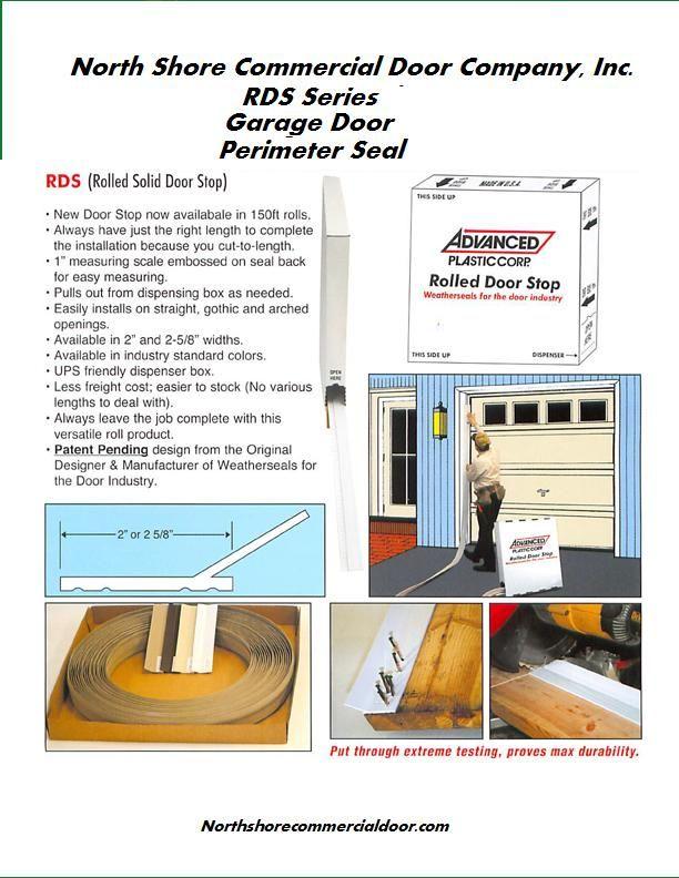 Garage Door Stop Molding Weather Seal Weatherstripping Doors