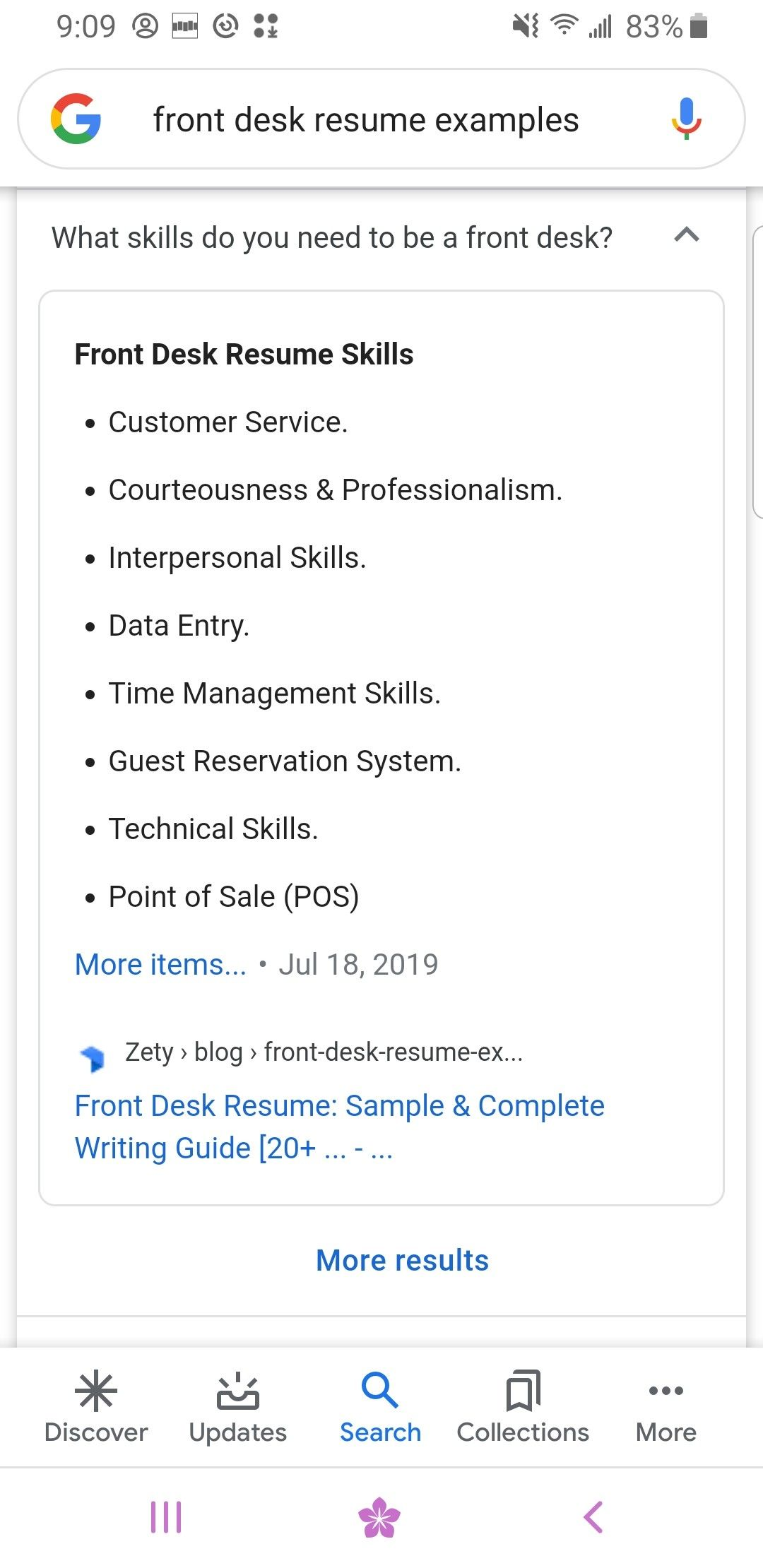 Pin by LB on JOB in 2020 Time management skills, Resume