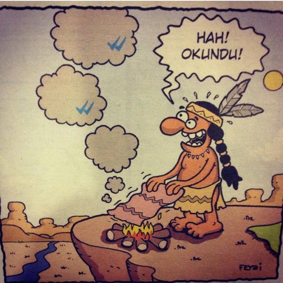 Whatts Up Hah Okundu Karikatr Mizah Mizah Pinterest