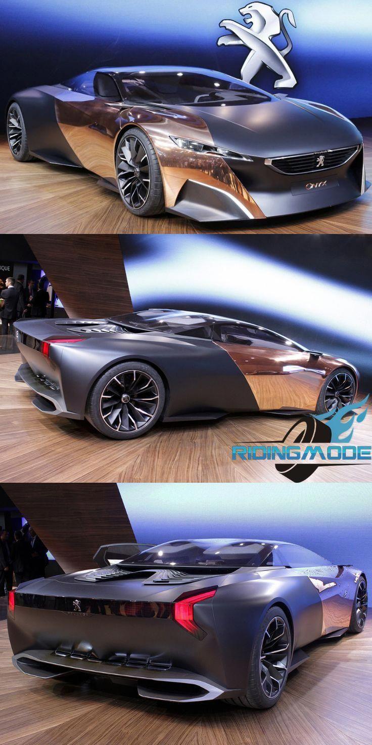 Einzigartiges & futuristisches Konzept Peugeot ONYX Hybrid