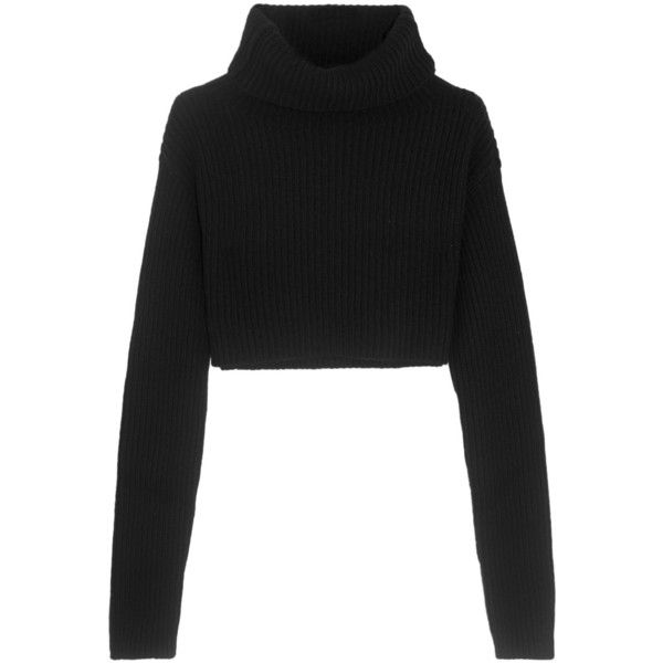 43e34293199 Valentino Cropped wool and cashmere-blend turtleneck sweater ($905 ...