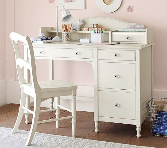 Madeline Kids Storage Desk Hutch: Juliette Storage Desk & Hutch