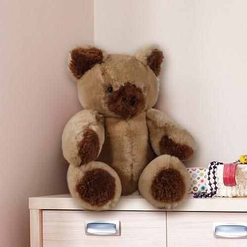 Our adorable sheepskin teddy bear is made from 1