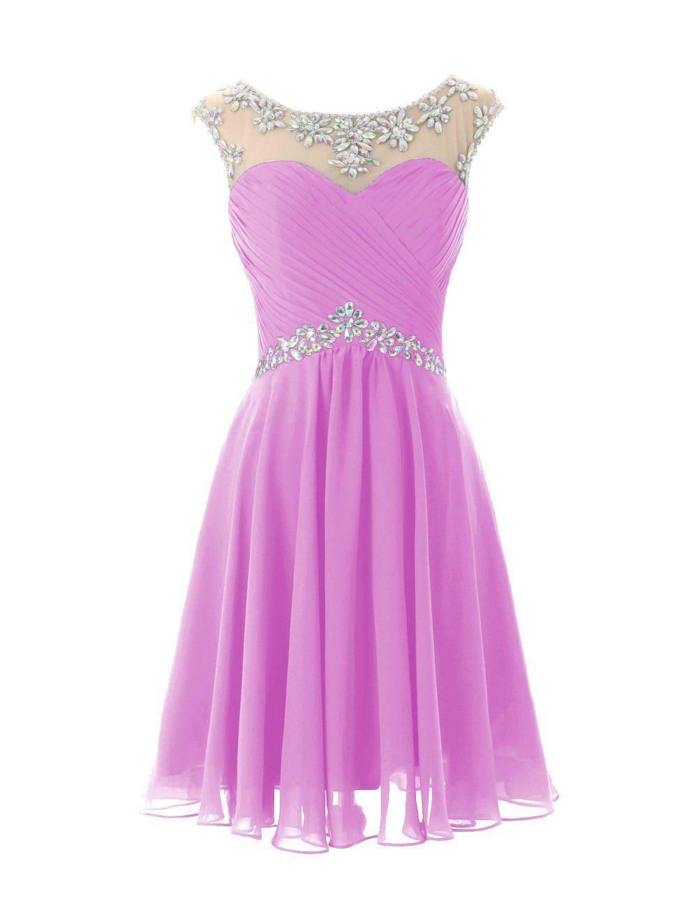 b91301b924ab7 Dresstells® Short Prom Dresses Sexy Homecoming Dress for Juniors ...