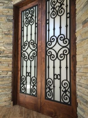 The Look Of Wrought Iron For Doors Ventanas De Hierro