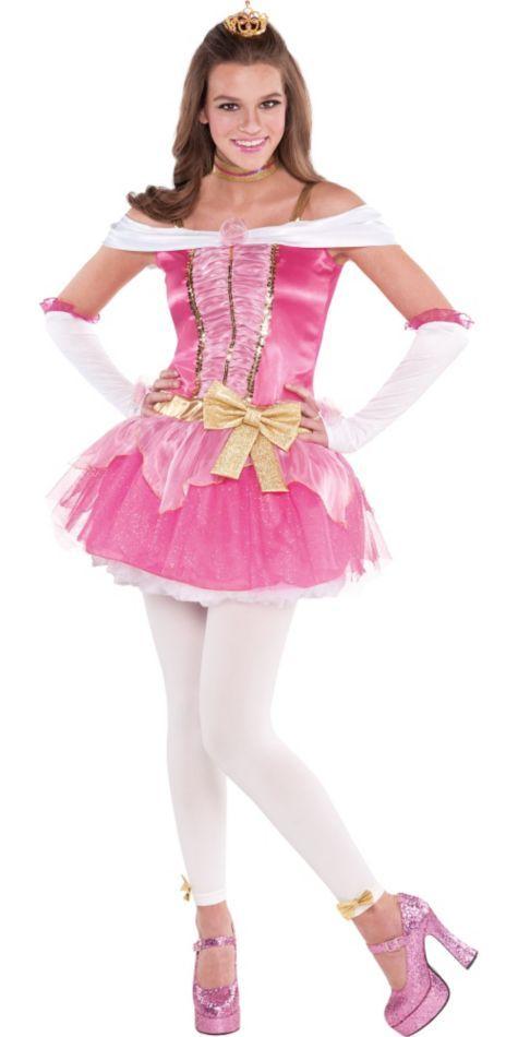 Teen Girls Aurora Sleeping Beauty Costume - Party City -1499