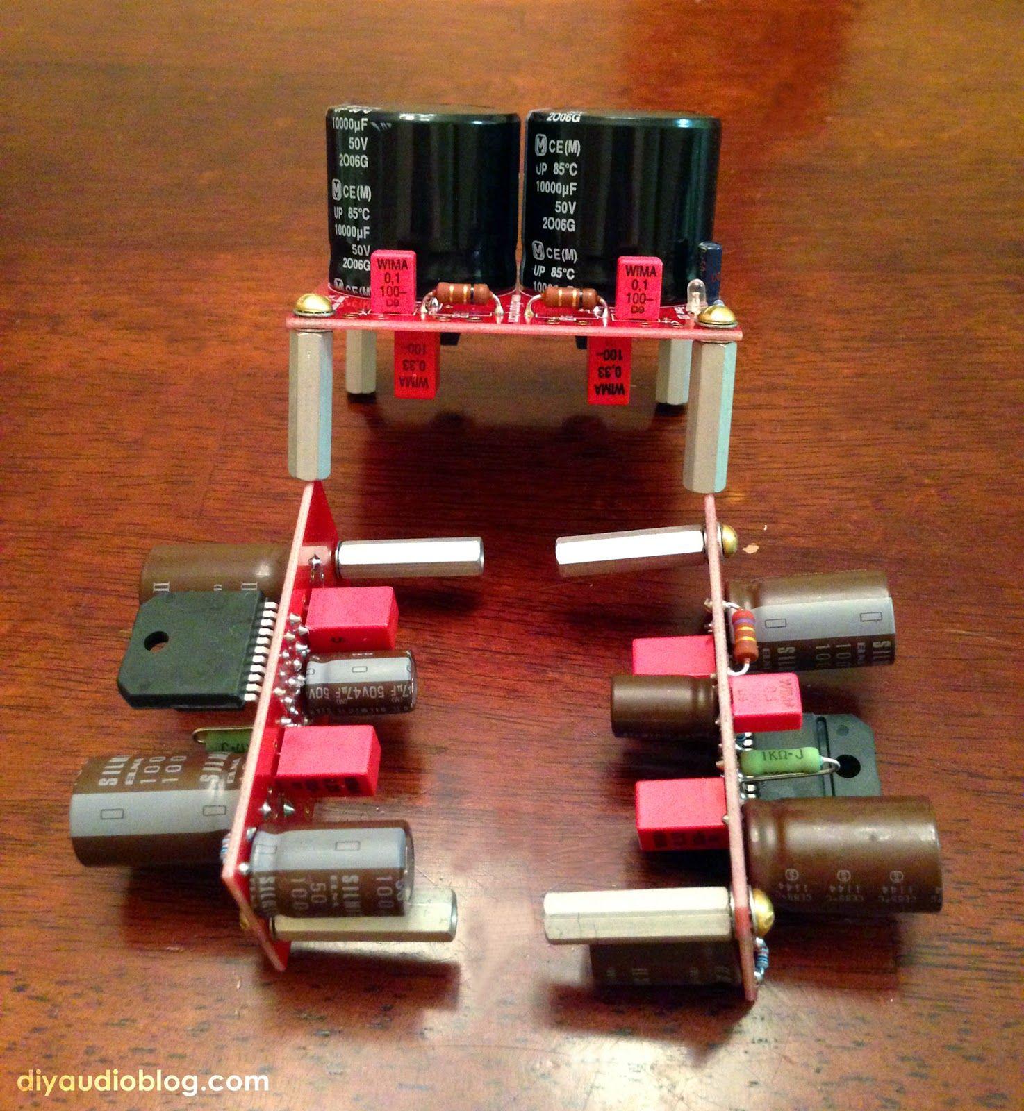 DIY Audio Electronics from Zynsonix.com: BrianGT LM3886 ...