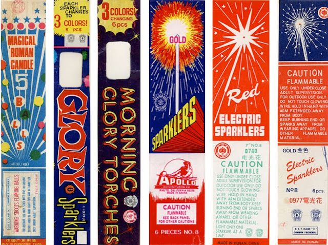 Fireworks packaging