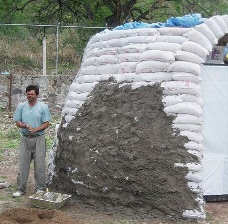 Amazing Alternative Building Methods Earthbag Green