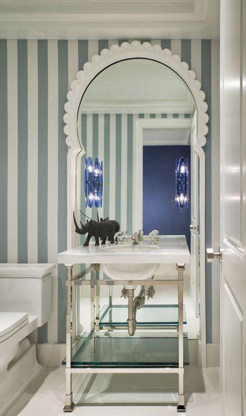 Geoffrey Bradfield Luxury Interior Design Moroccan Moderne Palm Beach Ottoman Pinterest