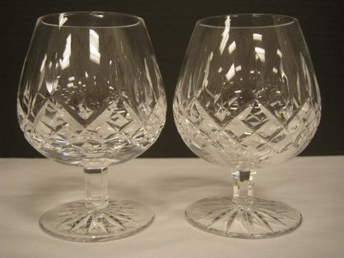 Waterford Crystal Lismore Brandy Snifters