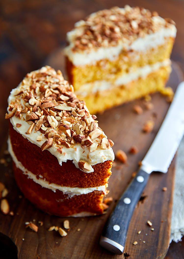 Flourless glutenfree carrot cake light and very moist
