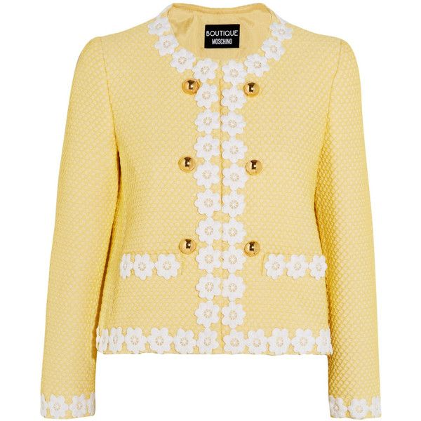 Free Shipping Moschino blazer knit sweater Get Authentic Online Cheap Get To Buy Extremely Outlet Where Can You Find pY1D6C7