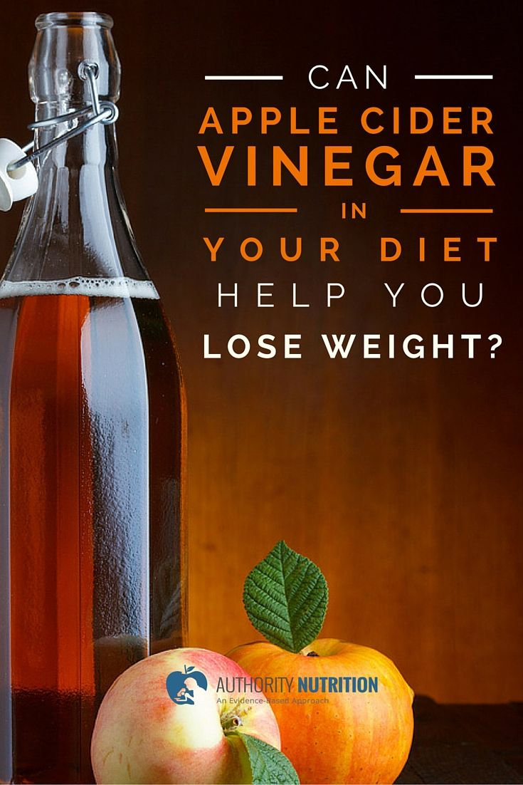 Apple cider vinegar has many impressive health benefits. This article explores whether adding it to your diet can help you lose weight. Learn more here: https://authoritynutrition.com/apple-cider-vinegar-weight-loss/