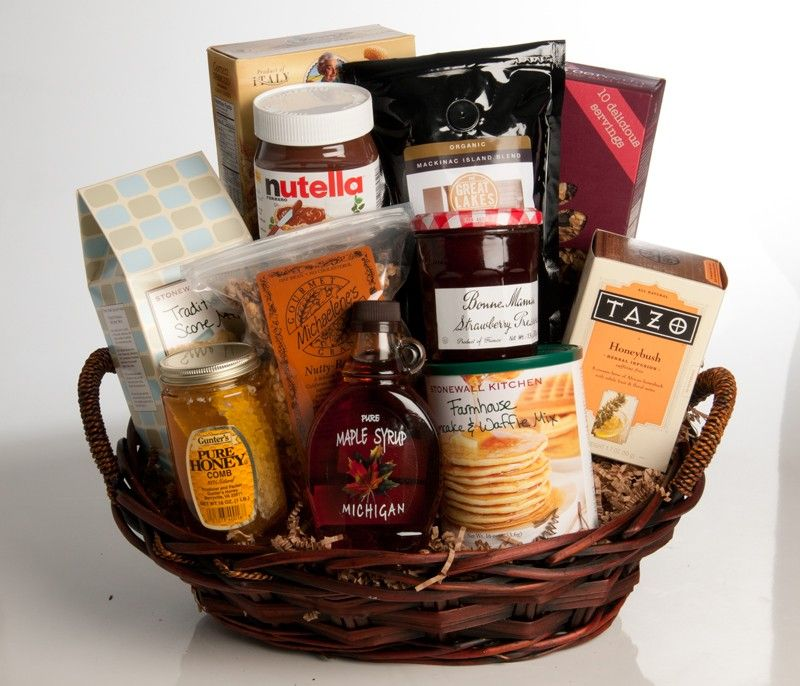 Breakfast Gift Basket & Breakfast Gift Basket | Lifestyle - Gift Ideas | Gift baskets ...