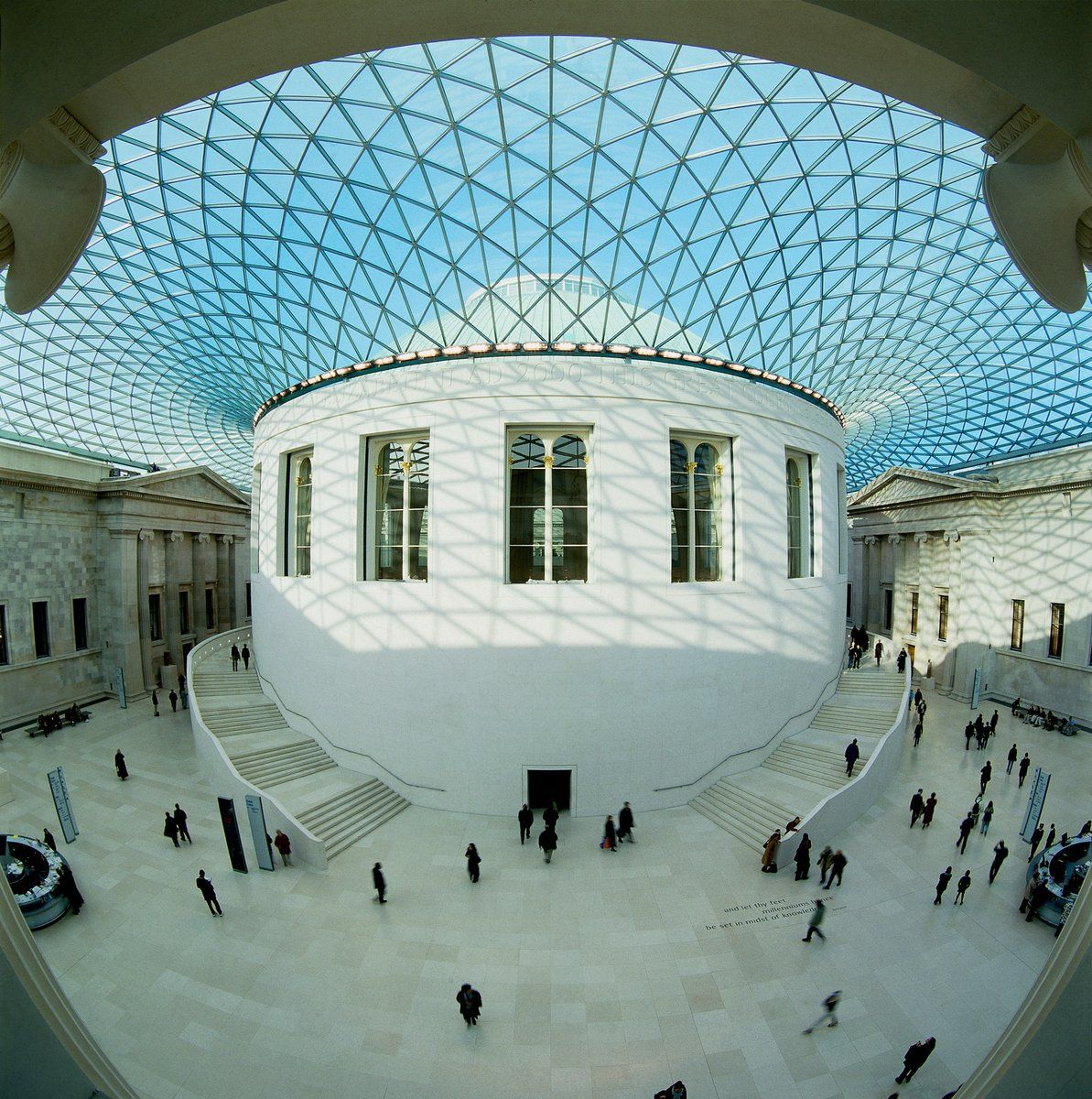 Britishmuseum Did You Know There Are 3 312 Panes Of Glass In The Ceiling Of The Great Court No Two Are Exactly The Same British Museum Museum Architecture
