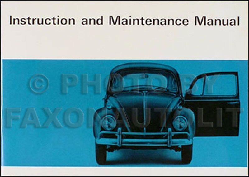 1967 Volkswagen Bug Owners Manual Nos Original 67 Vw Beetle Owner Guide Book Oem Volkswagen Owners Manuals Volkswagen Bug