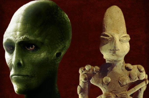 """La prova definitiva che 7.000 anni fa antichi popoli adoravano divinità """"Rettile"""""""