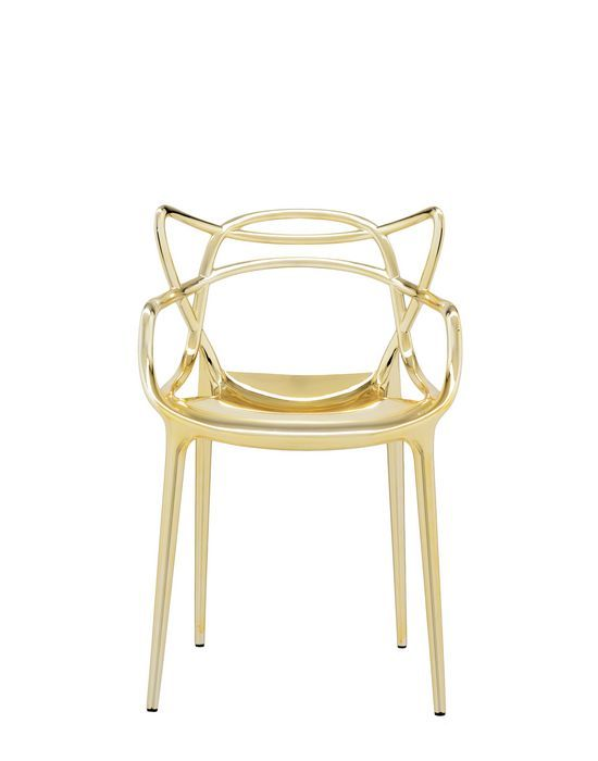 Kartell Masters Chair Pack Of 2 Masters Chair Metal Chairs Chair