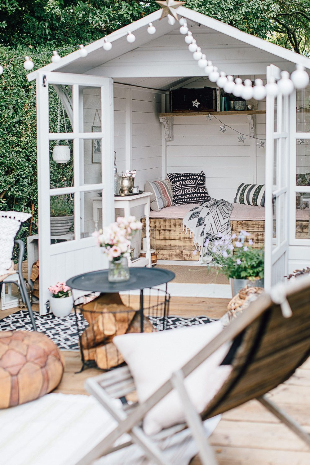 Global Inspired Home Tour {Upstairs} -  Summer House Painted In Cuprinol French Grey – Theresa's Four Bed Edwardian #terrace. Garden Wi - #dressingroom #global #home #homedecor #house #inspired #kidsroom #livingroomdecor #Tour #upstairs