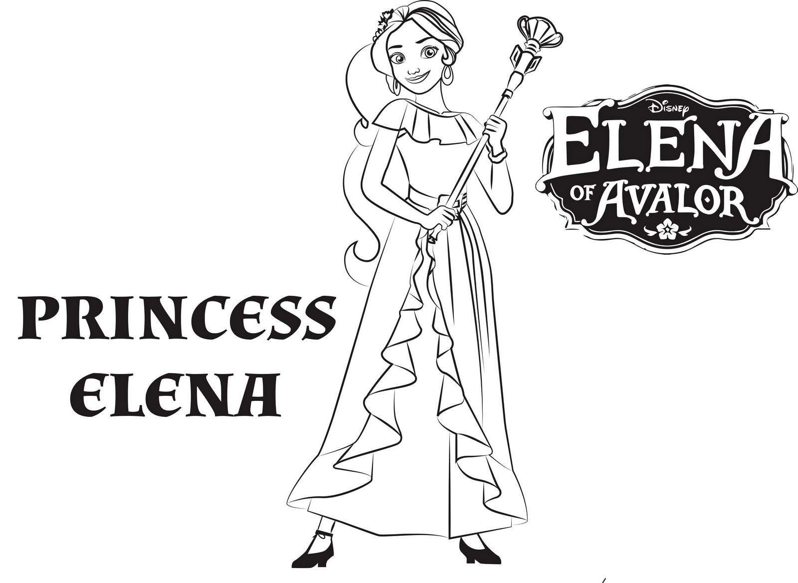 Princess Elena From Elena Of Avalor Coloring Pages Disney Coloring Pages Princess Elena Coloring Pages Inspirational