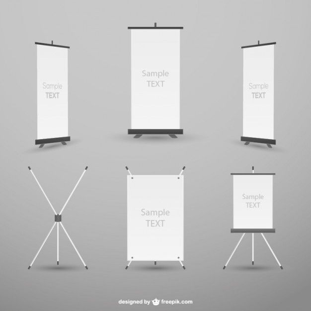 free signage template