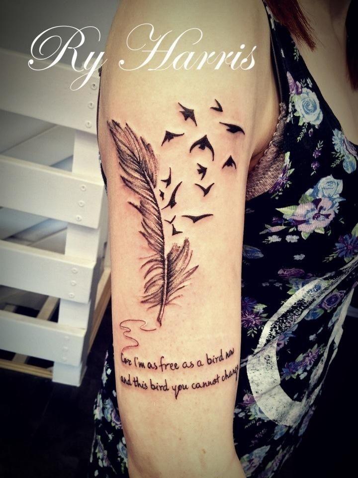 My Free Bird Tattoo Free Bird Tattoo Tattoos Birds Tattoo