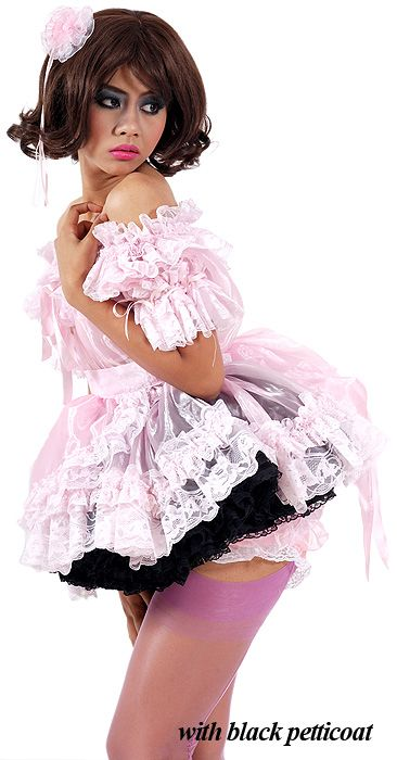 Gia Glass-silk and Lace French Maid Uniform  sc 1 st  Pinterest & Gia Glass-silk and Lace French Maid Uniform | My Style | Pinterest ...