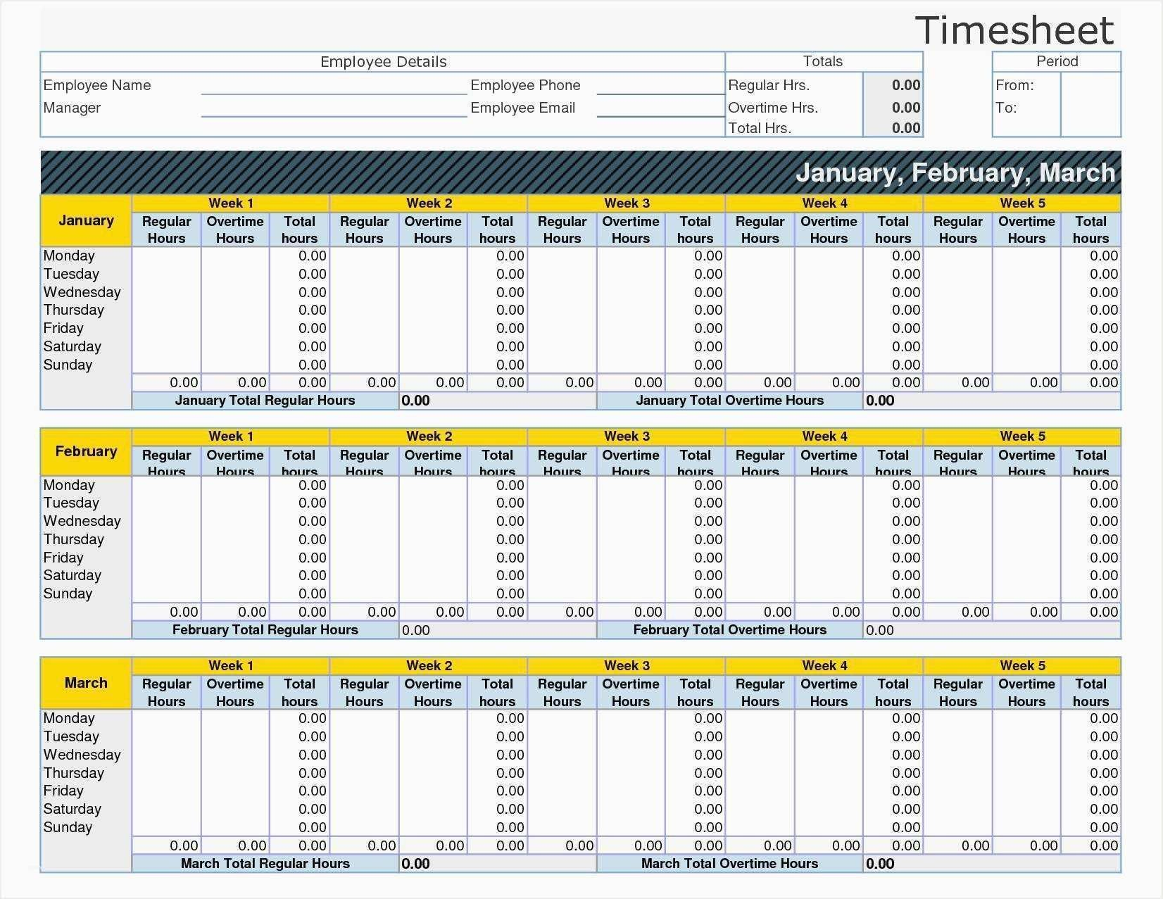 New To Do List Spreadsheet Sales Template Timesheet Template