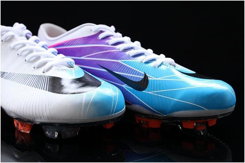 Popular Nike Mercurial Vapor Superfly Ii Elite Fg Soccer Cleats Chlorine Blue Circuit Orange White Men Cleatsout Of S Soccer Shoes Sport Shoes Basketball Shoes