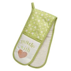 Wilko Amber Daisy Double Oven Glove 163 4 Oven Glove