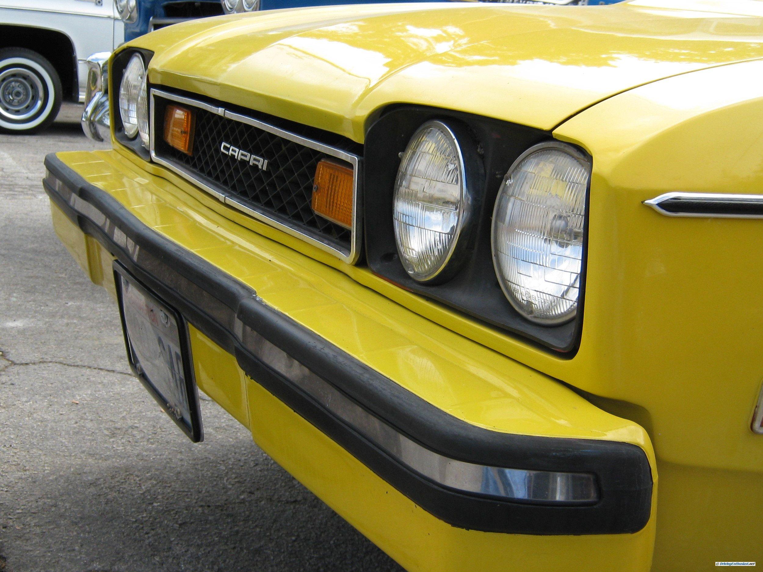 1976 Mercury Capri. Slight restoration, for sale at $4900 in Sept ...