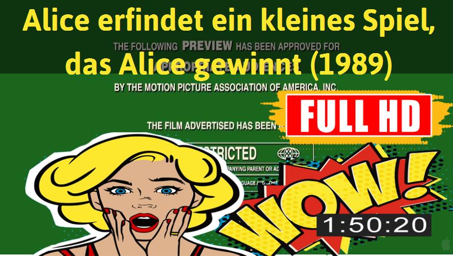 Watch Alice erfindet ein kleines Spiel, das Alice gewinnt (1989) Movie online : http://movimuvi.com/youtube/OVJTOWkwU0tuMFdmM3o1MmFrMTRzUT09  Download: http://bit.ly/OnlyToday-Free   #