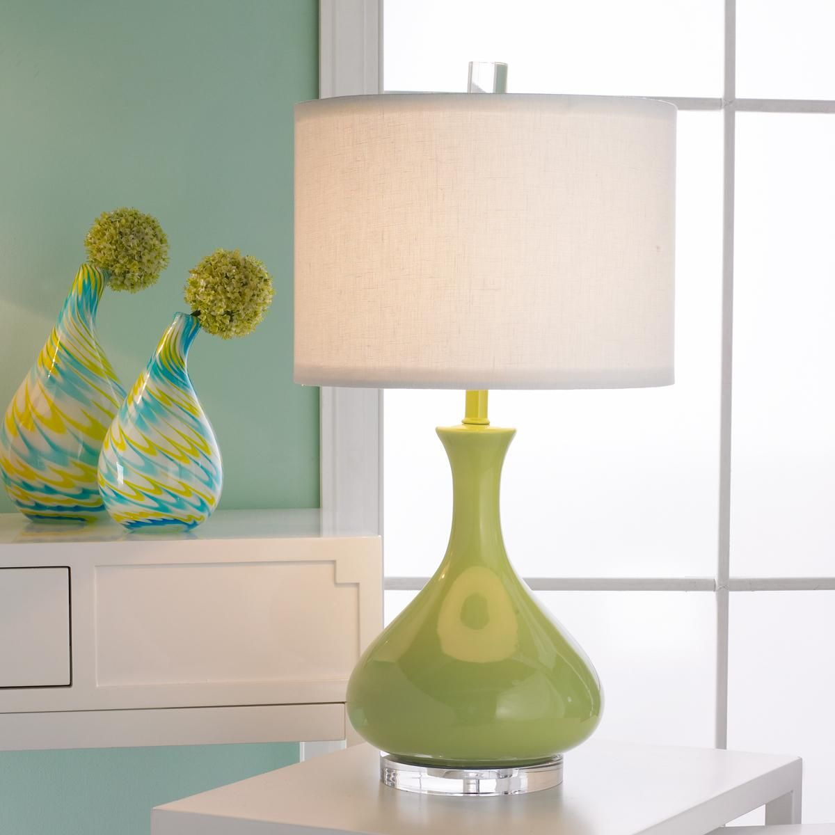 Ceramic Droplet Gourd Table Lamp