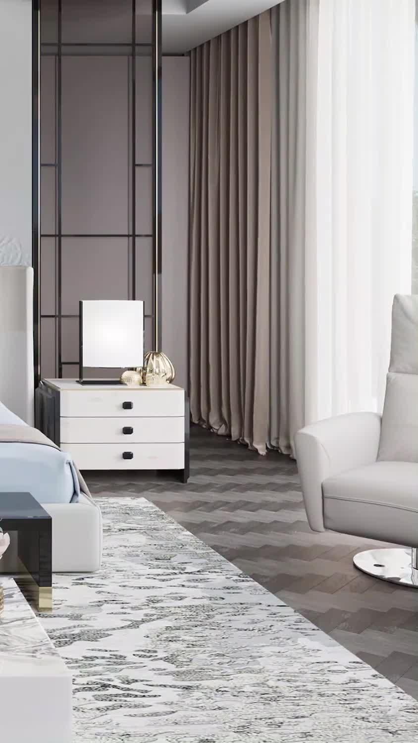 Sumptuousness family bedroom interior decoration videos for a