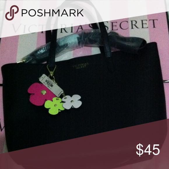 NWT VS crossbody bag. Flower keychain Brand new. Victoria's Secret Bags Crossbody Bags