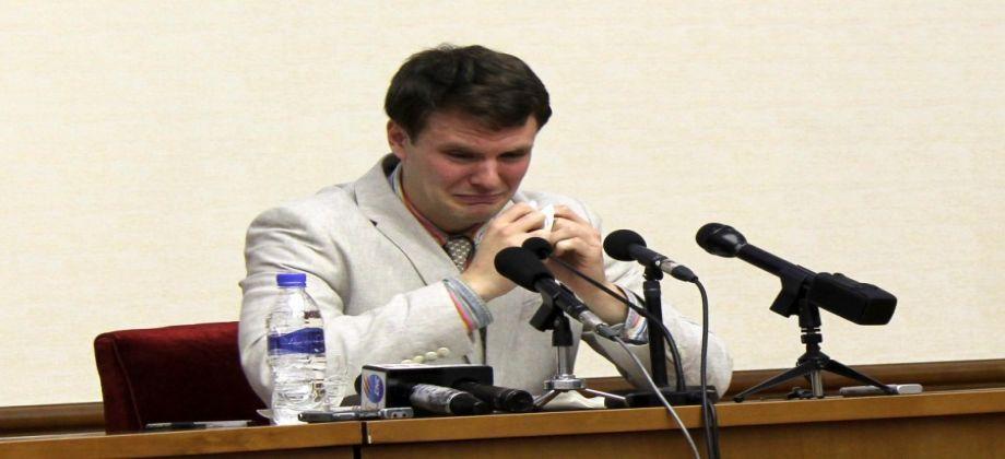الاعلان عن وفاة الطالب الأمريكي المحتجز سابقا في كوريا الشمالية    لقراءة الخبر كاملاً ... الرجاء النقر على الرابط التالي  https://www.almjhar.com/ar-sy/NewsView/51001/132181.aspx