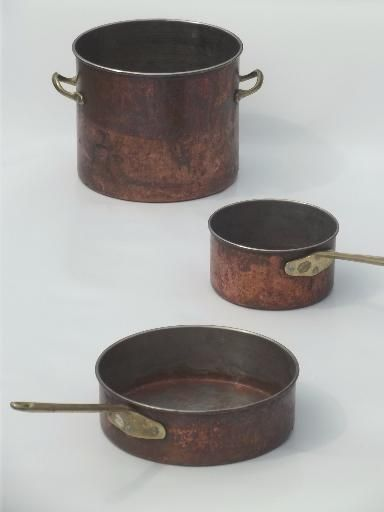 To old with pots copper do what Three Ways