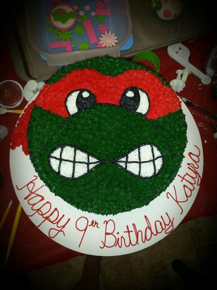 Raphael Ninja turtle cake My Creations Pinterest