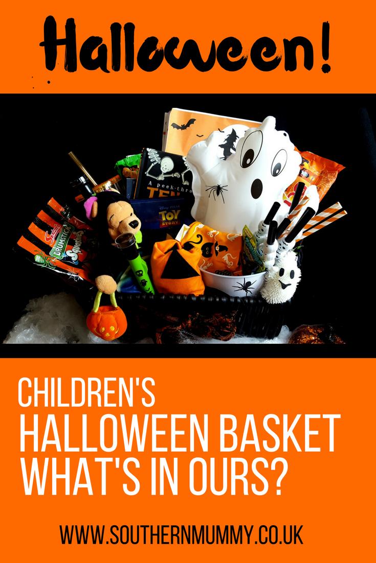 DIY Kids Halloween Basket Ideas Peek if you dare
