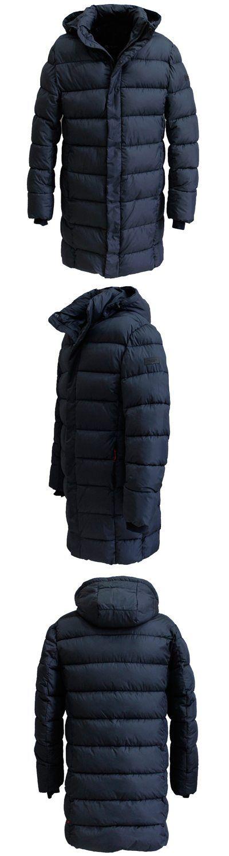 26786b2a792b 2019 New Men Winter Coat Fashion Padded Jackets Mens Puffer Jacket Bio-based  Cotton Winter Parka Homme Long Coat Russian Style