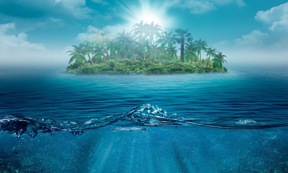 Wallpaper Lonely Island Ocean Nature Landscape Sea Water Trees Palms 3200x1926 Wallup 1025490 Hd Wallpapers Wallhere With Images Ocean Wallpaper